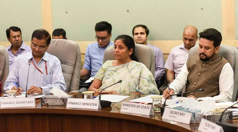 gst council, gst council meeting, finance minister, nirmala sitharaman, goods and services tax, National Anti-profiteering Authority, india news, indian express