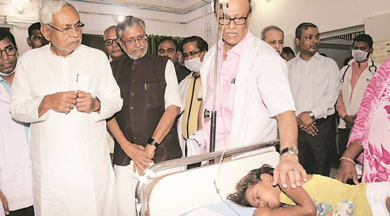 AES toll rises to 108: Bihar CM Nitish Kumar visits SKMCH, faces protests from patients' kin