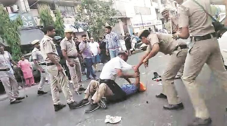 Eight cops involved in North Delhi clash have 3-month experience, police probe finds
