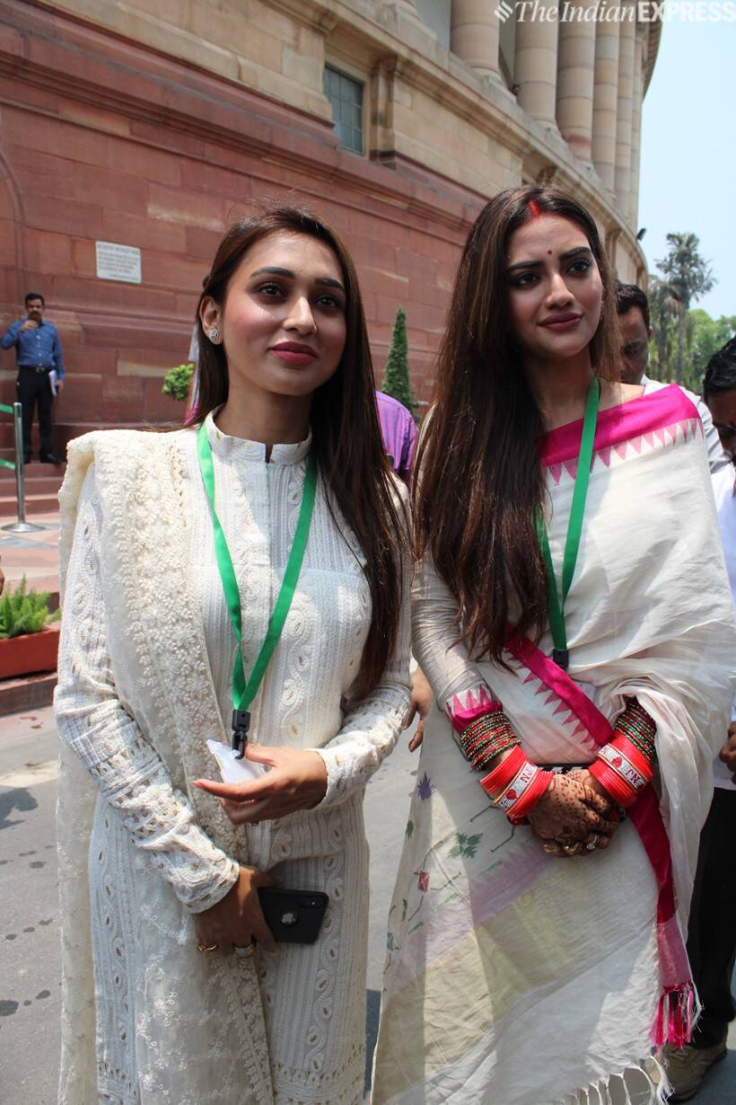 nusrat jahan and mimu chakraborty