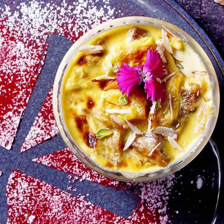 Oum Ali, oum ali recipe, delicious dessert recipe, dessert recipe indian express, indian express news