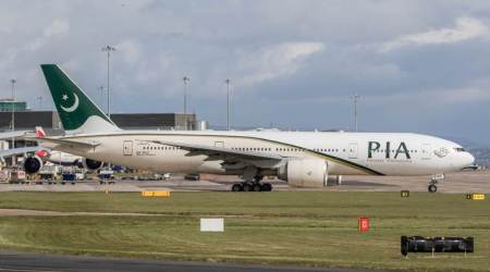 pakistan international airlines, pia, pi aircraft, pakistan international airlines flight, manchester to islamabad pia flight, pia flight manchester to islamabad, world news, Indian Express