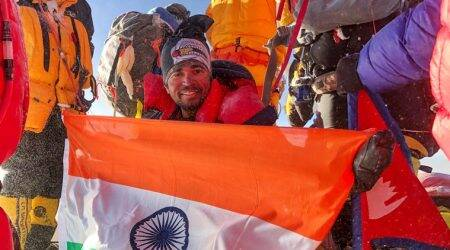 everest traffic jam, mount everest, nepal, mountaineers dead, death on everest, everest climbing, mount everest climbing, sherpa, parth upadhyay, aditya gupta, everest summit, india news, indian express