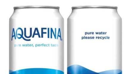 Canned Aquafina