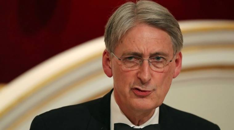 climate emergency, climate protests, Philip Hammond, uk finance minister, world news, uk finance minister speech, indian express