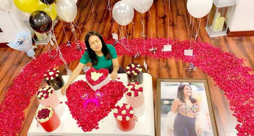 Neha Kakkar birthday celebration