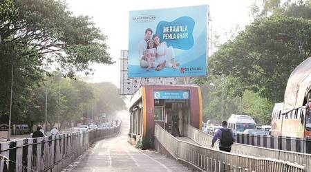 3 months after PMC asks PMPML to remove hoardings from BRT shelters, still no action