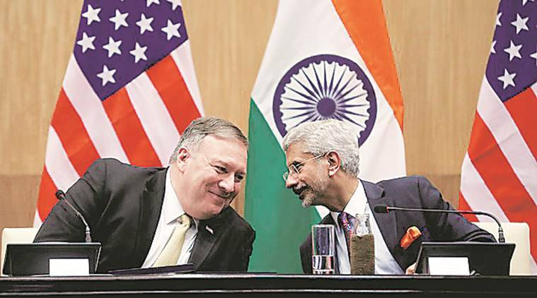 mike pompeo, mike pompeo on religious freedom, mike pompeo visit, mike pompeo in india, mike pompeo to visit india, mike pompeo visit india, michael pompeo, pompeo jaishankar meeting, pompeo modi meeting, michael pompeo to visit india, us india relations, india news, indian express