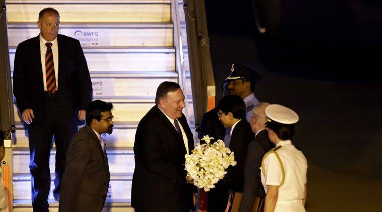 US Secretary of State Mike Pompeo arrives in Delhi, to meet Jaishankar tomorrow
