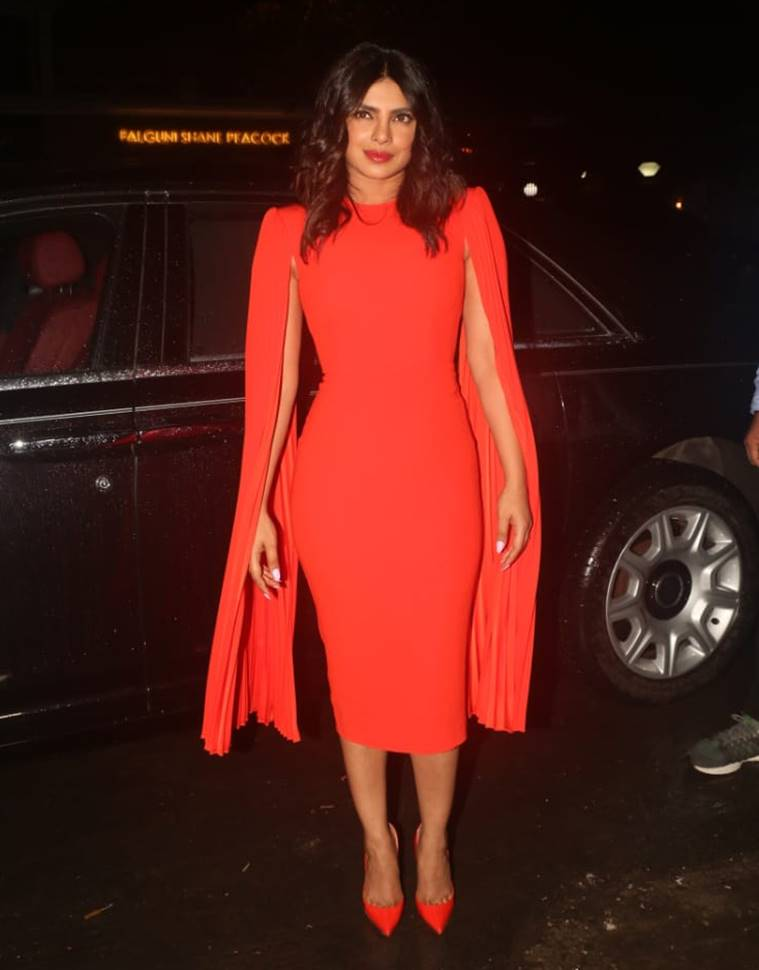 Priyanka chopra, priyanka chopra fashion, priyanka chopra orange