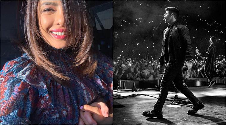 Priyanka Chopra is back to 'Home Sweet Home', attends Nick Jonas' concert