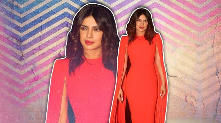 Priyanka Chopra gives lessons on power dressing in this tangerine dress; see pics