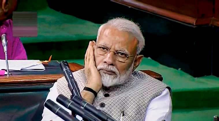Prime minister narendra modi, BJP Indore MLA Akash Vijayvargiya, Tabrez Ansari, Jharkhand lynching, Jai shri ram slogans, mob violence, cow vigilantism, India news, indian express