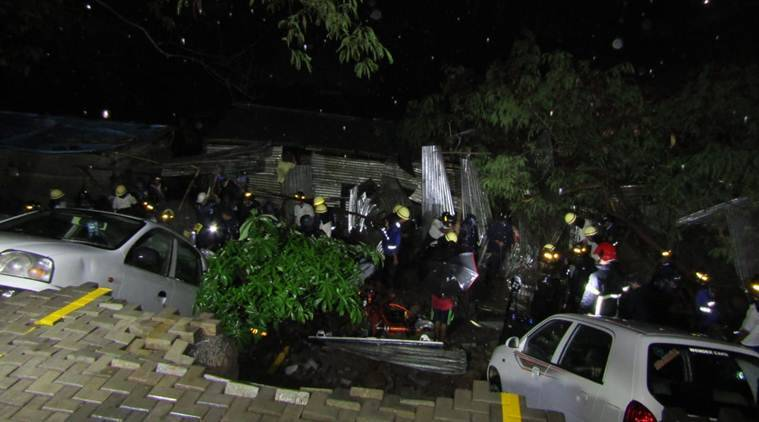 Pune wall collapse 15 including four children killed at construction site