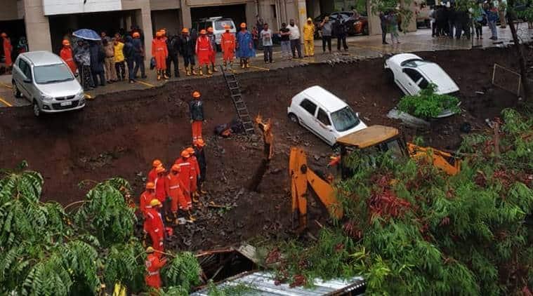 Pune, Pune news, Pune wall collapse, kondhwa wall collapse, pune news