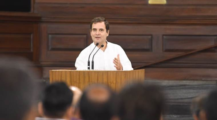 Rahul gandhi, Rahul gandhi lok sabha, Congress, Opposition party, BJP, Congress defeat, Sonia gandhi, randeep Surjewala, India news, Indian express