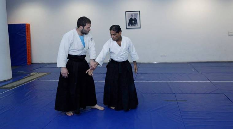Aikido, Aikido Everything you need to know, what is Aikido, indianexpress.com, happy birthday rahul gandhi, rahul gandhi birthday, rahul gandhi june 19 birthday, birthday boy rahul gandhi, shri president INC, shri president, birthday wishes rahul gandhi, who is rahul gandhi, rahul gandhi politicians, congress rahul gandhi, rahul gandhi mother, rahul gandhi father, rahul gandhi childhood pics, rahul gandhi pappu, pappu rahul gandhi, rahul gandhi narendra modi, modi wishes rahul, rahul gandhi aikido, rahul gandhi japanese martial art, rahul gandhi fitness, rahul gandhi aikido videos, what is aikido, aikido love, aikido japan, indianexpress.com, indianexpressonline, indianexpress, indianexpressnews, rahul gandhi age, rahul gandhi news, rahul gandhi latest, rahul gandhi indian national congress, rahul gandhi birthday pics, rahul gandhi aikido videos, rahul gandhi president congress, rahul gandhi 49, Aikido japanese art form, black belt martial art form, yoga day, international yoga day,
