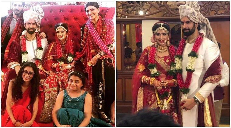 Rajeev Sen Charu Asopa wedding photo Sushmita Sen, boyfriend Rohman Shawl