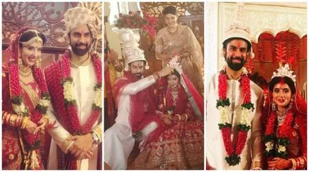 Rajeev Sen, Charu Asopa wedding photos