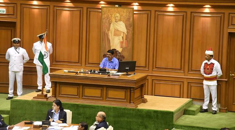 goa, goa assembly, goa legislative assembly, goa assembly speaker, goa legislative assembly speaker, goa speaker, rajesh patnekar speaker goa, goa seembly speaker rajesh patnekar, rajesh patnekar, patnekar, pratapsinh rane, pramod sawant, indian express news