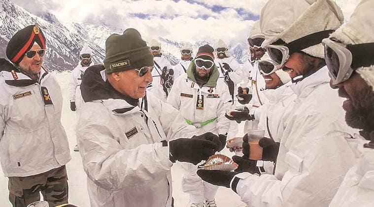 Siachen area now open to tourists, says Rajnath Singh