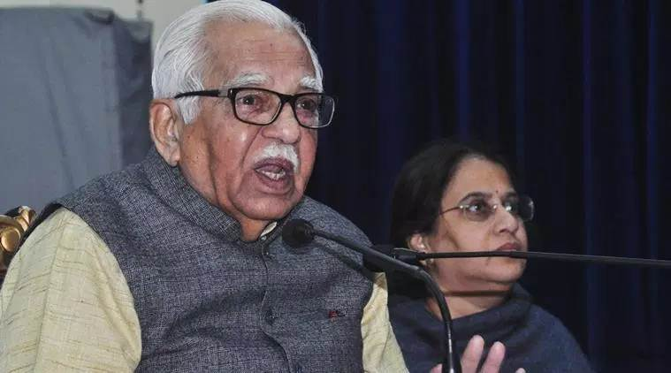Ram Naik, UP governor Ram Naik, UP govt, Rita Bahuguna Joshi, SP Singh Baghel, Satyadev Pachaury, UP BJP, Lok Sabha seats, Yogi Adityanath, Indian express