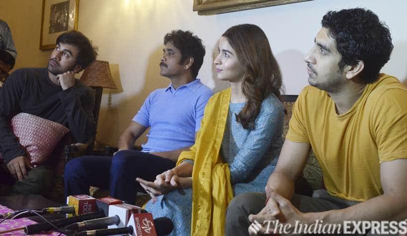Ranbir Kapoor, Alia Bhatt, Ayan Mukerji, Akkineni Nagarjuna promote Brahmastra in Banaras