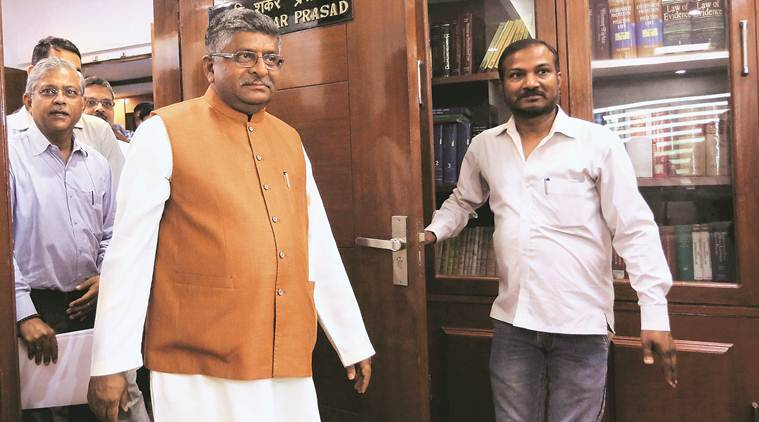 Ravi Shankar Prasad, Law Minister, Triple Talaq bill, triple Talaq, Nikah Halala, India News, Indian Express