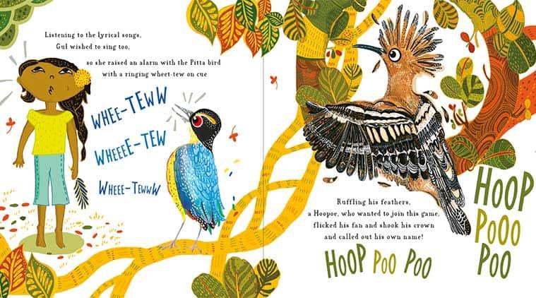 childrens book, birds of india