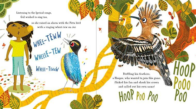 childrens book, birds of india