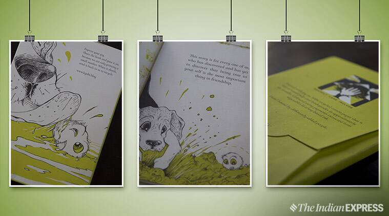 childrens book, recycled paper, green book