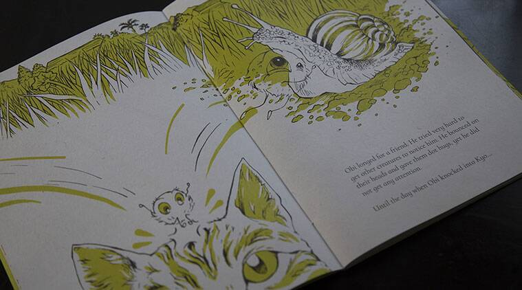 childrens book, picture book for kids, kyo and obi