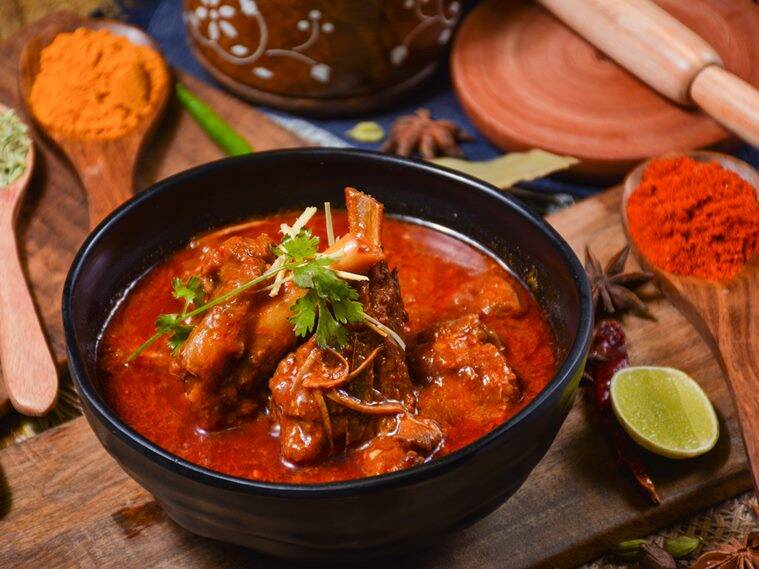 roghan josh, eid recipe, food recipe, delicious eid recipe, indian express, indian express news