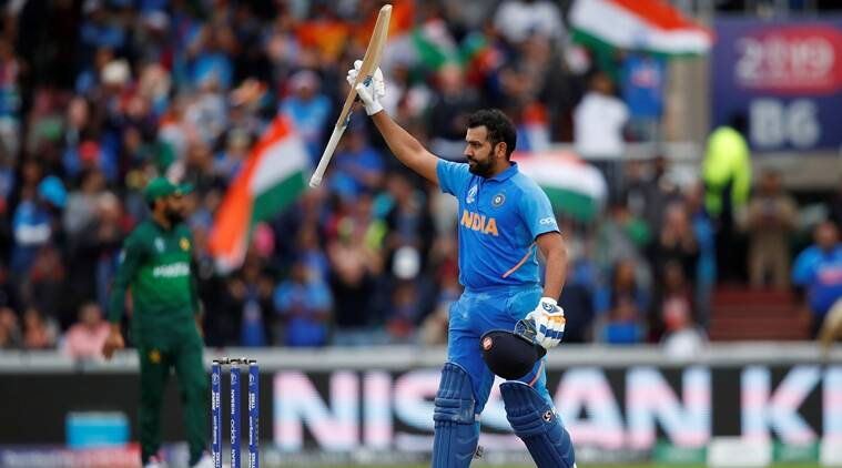 Rohit Sharma slams 24th ODI ton, second fastest century by an Indian in a World Cup