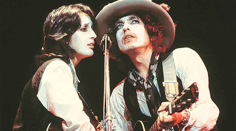 bob dylan, rolling thunder revue, rolling thunder revue movie review, bob dylan, sharon stone, ronee blakley, bob dylan story, bob dylan documentary, us, canada, racism, rolling thunder revue a bob dylan story, entertainment news, indian express news