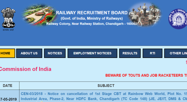 rrb, rrb paramedical result, rrb paramedical result 2019, railway Paramedical recruitment 2019, rrb paramedical recruitment 2019, rrb ntpc, rrb ntpc admit card, Sarkari Result, sarkari result, rrb paramedical recruitment list, rrb paramedical merit list, railway recruitment 2019, rrbald.gov.in, job news, railway job news, indian express, indian express news