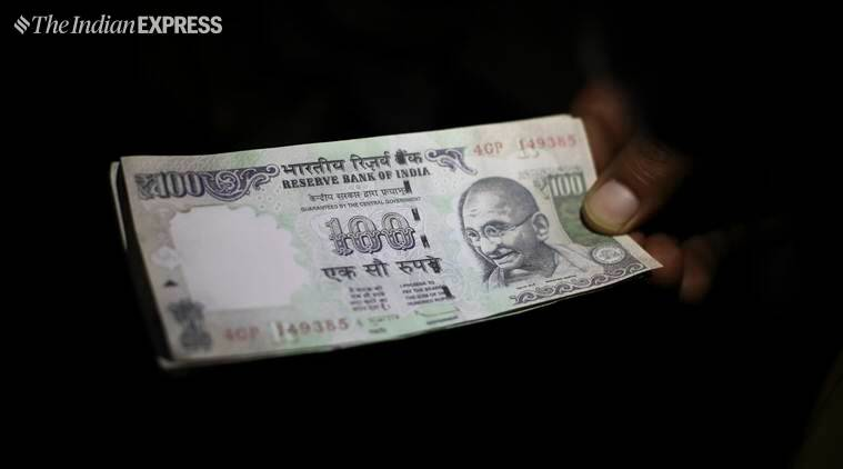 Rupee, Dollar Rupee trade, Dollar Rupee exchange rate, morning trade, BSE, Markets, Indian economy, GDP, India News, Indian Express