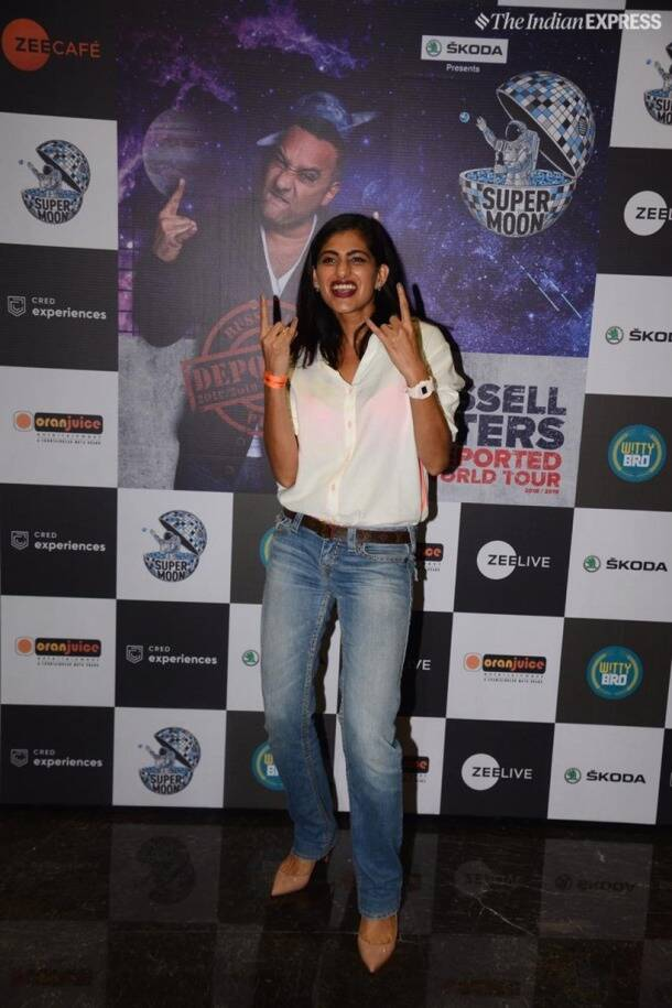kubbra sait at russell peters show