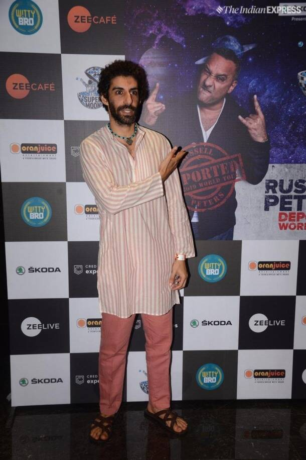 jim sarbh at russell peters show