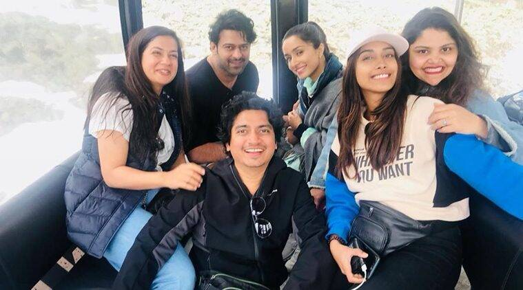 saaho europe shoot