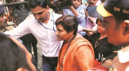 pragya thakur, malegaon blast case, sadhvi pragya, malegaon blast probe, bjp mp bhopalpragya thakur, malegaon blast case, sadhvi pragya, malegaon blast probe, NIA court, Bhopal, Colonel Purohit, NIA, India News, Indian Express, bjp mp bhopal