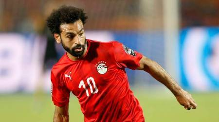 Mohamed Salah, Africa Cup of Nations, Egypt, Salah, Africa cup, soccer news, sports news, indian express