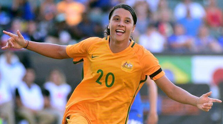 Australia S Women Footballers To Get Same Base Pay As Men Sports News The Indian Express Amy is an american soccer player who plays for utah fc and is also part of the us women's team. the indian express