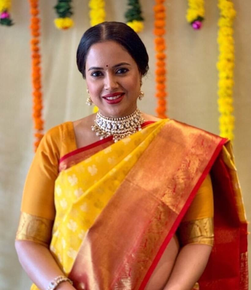 Sameera Reddy baby shower photos