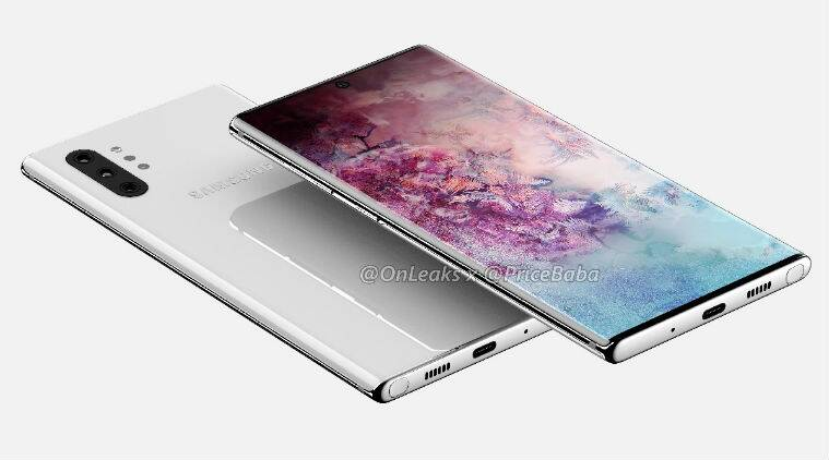 Samsung Galaxy Note 10, Note 10 Pro cases suggest vertical triple rear cameras