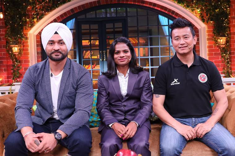 Bhaichunga Bhutia on kapil sharma show