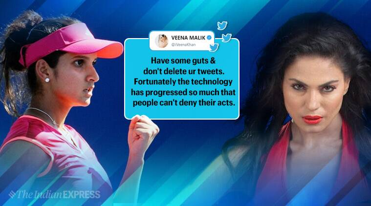 Sania Mirza-Veena Malik spat on Twitter turns ugly: Here's how it