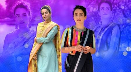 Sanya Malhotra, Sanya Malhotra fashion, Sanya Malhotra ethnic looks,