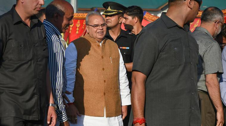 amarnath yatra, amarnath yatra 2019, 2019 amarnath yatra, jammu and kashmir governor, satya pal malik, jammu and kashmir governor satya pal malik, india news, Indian Express