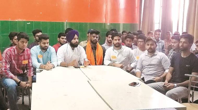 Students for Panjab University dissolved, members join Students Organistion of India